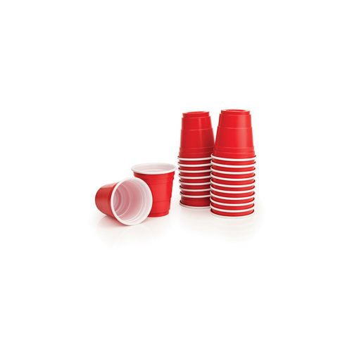 red shot cups